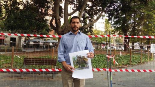 El concejal de Infraestructuras y Accesibilidad, Rodrigo A. Romero.
