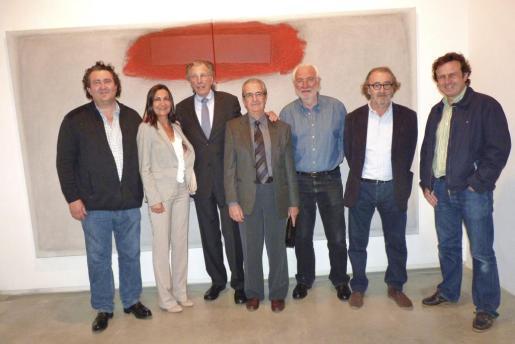 Ramon Serballs, Tonina Bestard, Erwin Bechtold, Fernando Rotger, Bernat Rabassa, Ramon Canet y Mariano Mayol.