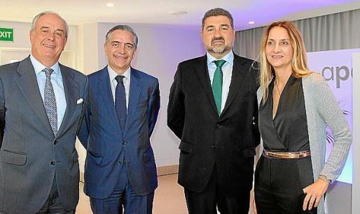 Álvaro Mengotti, Jaime Nicolau, Rafael Ferragut y Catalina Alemany.