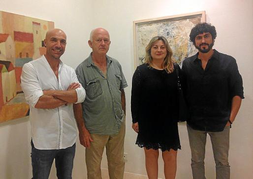 Jorge Cabral, Luis Vidal, Elena Morro y Pol Font.