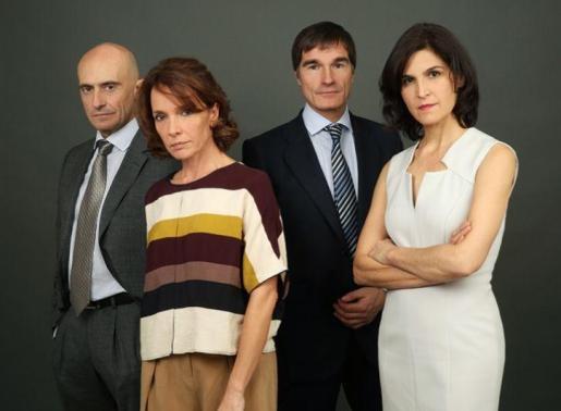 Pepe Viyuela, Elena González, José Luis Alcobendas y Susana Hernández protagonizan 'Màrmol'.
