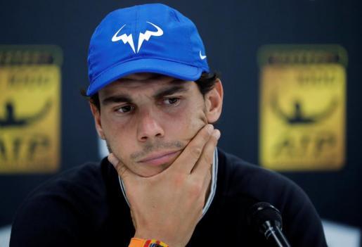 Nadal abandona por lesión el Masters 1.000 de París