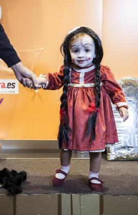 La pequeña Iria Pericás (16 meses) ganó en la categoría de niños hasta 8 años.