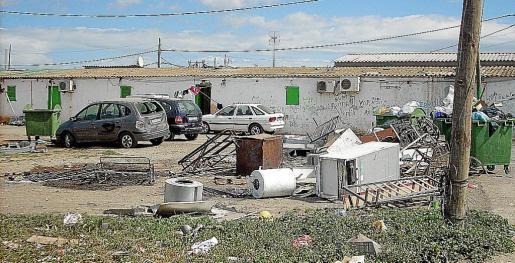 Vista del poblado de Son Banya, que se empezó a levantar en los años 70.