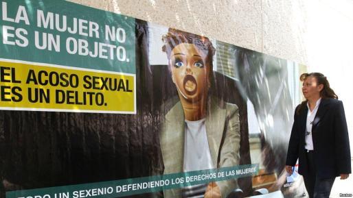 Campaña contra el acoso sexual.