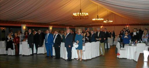 El exalcalde de Palma Joan Fageda se encontraba entre los numerosos invitados a la cena del viernes.