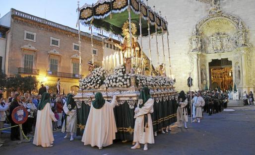 palma procesion sant francesc mare de deu de l¿esperanza foto miquel a. cañellas