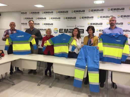 Presentación de los nuevos uniformes de Emaya.