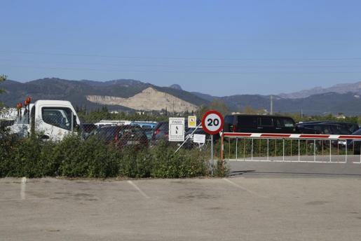 Imagen del depósito municipal de Son Toells.