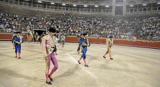 En agosto de este año se celebró en Palma la última corrida de toros antes de la entrada en vigor de la ley que prohíbe el maltrato del animal.