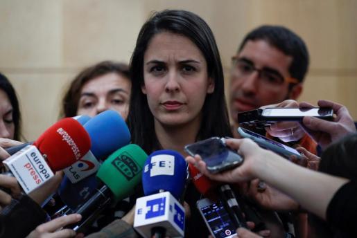 """La portavoz del Ayuntamiento de Madrid, Rita Mestre, ha denunciado el """"trato injusto"""" de Hacienda con el gobierno municipal de Manuela Carmena."""