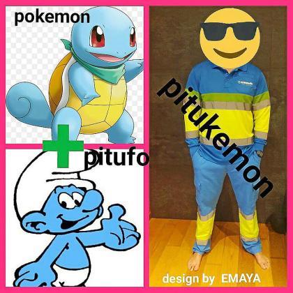 En los grupos de whatsApp de los empleados de Emaya circulan memes de los nuevos uniformes, como los que se observan en la imagen.