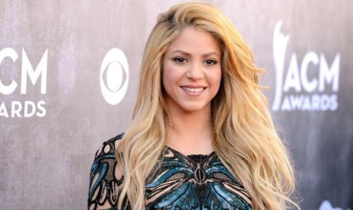 La cantante colombiana Shakira.