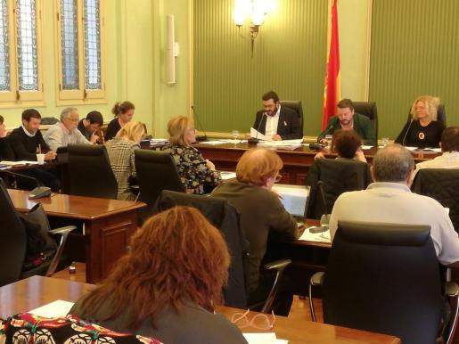 El conseller de Medio Ambiente, Agricultura y Pesca, Vicenç Vidal, este miércoles durante la comisión de los presupuestos.