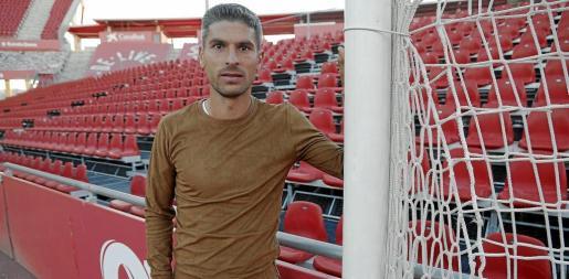 Salva Sevilla, en una imagen captada en el estadio de Son Moix.