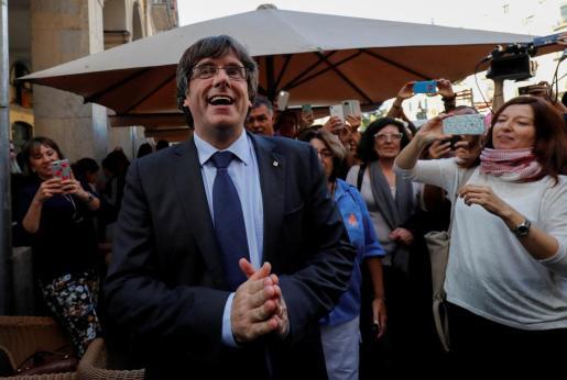 Imagen de archivo de Carles Puigdemont.