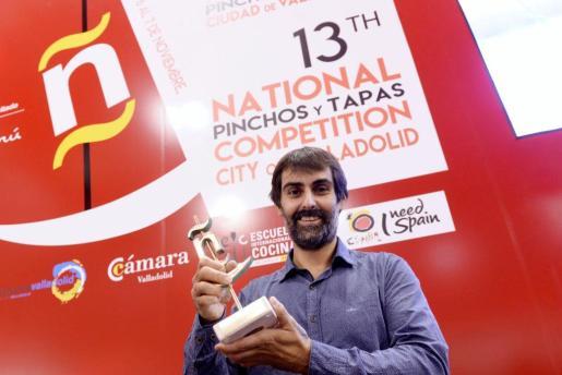 Igor Rodriguez del restaurante Ham del Puerto de Sóller se ha proclamado campeón del XIII concurso Nacional de Pinchos y Tapas Ciudad de Valladolid.