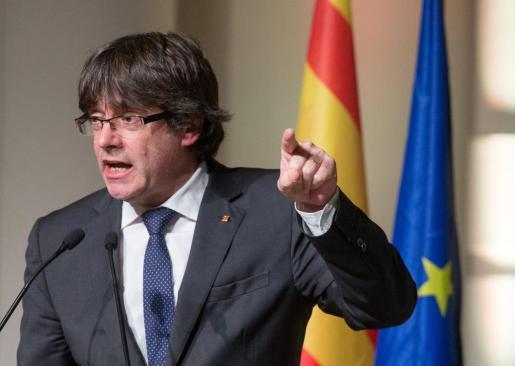 El expresidente de la Generalitat catalana Carles Puigdemont.