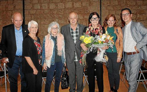 René y Ana Luisa Anderhub, Carmen Mateu, Joan Guaita, Betty Gold, Kimberley Marshall y Jason MacMerty.