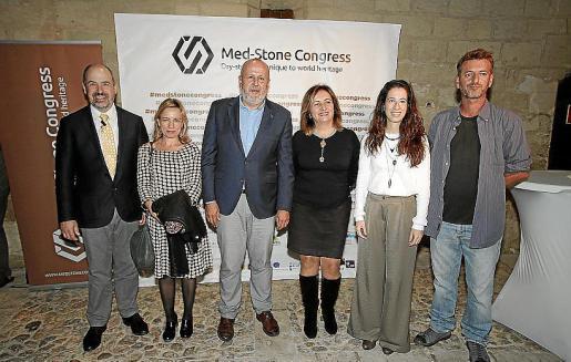 Michael Atwood, Elisa de Cabo de la Vega, Miquel Ensenyat, Fanny Tur, Sandra Espeja y Lluc Mir.