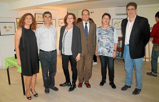 Marzia Bois, Pere Crespí, Assun Savall, Marc Ponseti, Montserrat Gibert y Antoni Bennàssar.