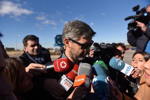 Andreu Van Den Eynde, abogado de la presidenta del Parlament, Carme Forcadell, ha presentado un escrito ante el Supremo.