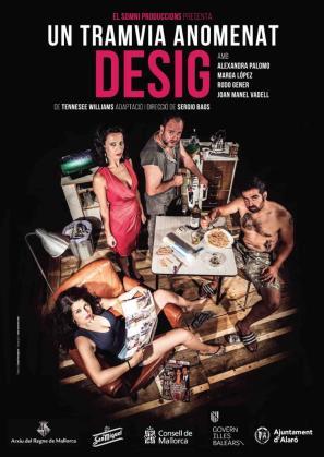 'Un tramvia anomenat desig' es una obra de El Somni Produccions dirigida por Sergi Baos.