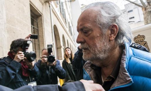 El empresario Bartolomé Cursach ha regresado este lunes a Palma.