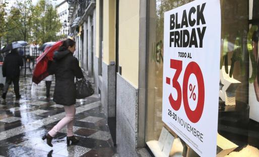 Descuentos durante el Black Friday.