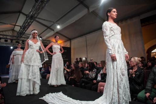 Imagen del desfile Nupcial Bridal Experience.