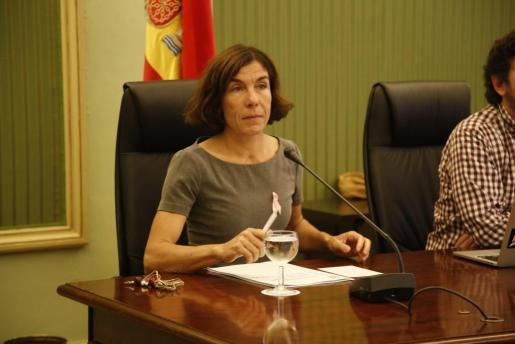 La directora general de Turismo, en una comparecencia en comisión del Parlament.
