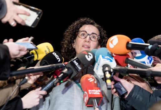 La secretaria general de ERC y número dos de la lista para el 21D, Marta Rovira.