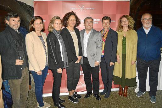 Joan Ramis, Paula Serra, Maria Salom, Catalina Cladera, Virgilio Moreno, Carmen Serra, Margalida Ramis y Pere Pascual.