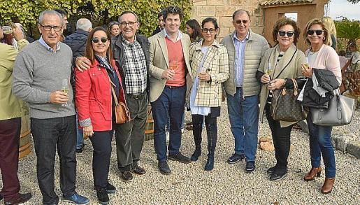 Gabriel Cànaves, Isabel Gelabert, Xim Fortuny, Guillermo García, Fátima Torres, Cristóbal Rosselló, Apol·lònia Castell y Maria Puigserver.