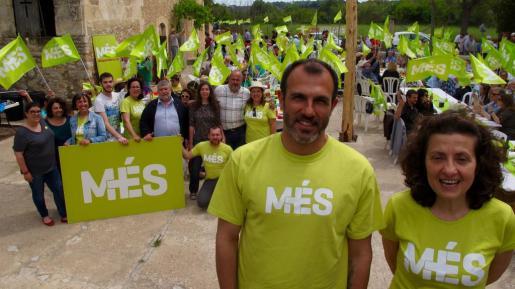 Imagen de un acto electoral de Més, durante la campaña del año 2015.