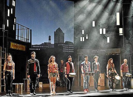 Imagen promocional del espectáculo 'Rumba'.