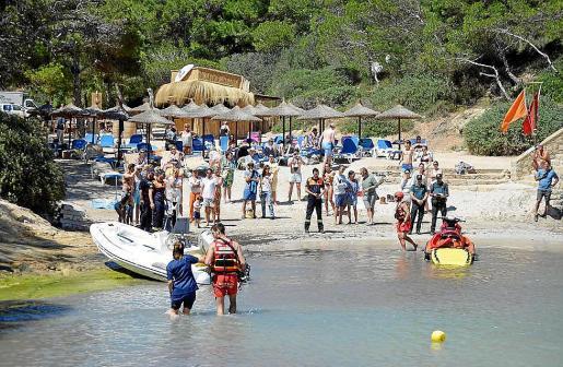 Los hechos sucedieron el pasado mes de agosto en una playa de Calvià.