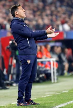 El entrenador argentino del Sevilla FC Eduardo Berizzo.