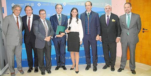 Joan Buades, Rafel Crespí, Llorenç Huguet, José Luis Acea, Emma Antolín, Javier Galarraga, Rafael Salas y Eugenio Sierra.