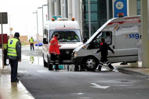 La pequeña fue trasladada hasta el hospital palmesano, pero finalmente no pudo recuperarse de sus heridas.