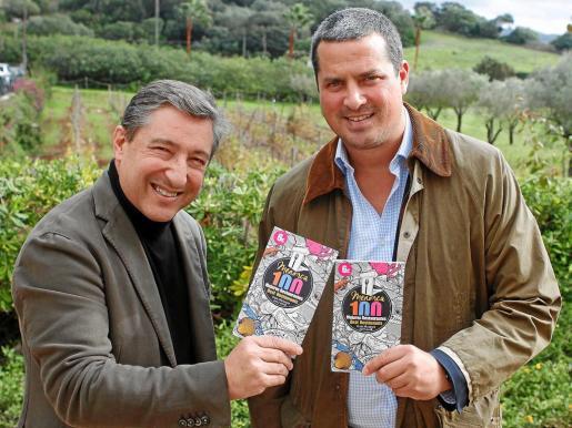 El reconocido chef del Celler de Can Roca junto con el cronista gastronómico Borja Matoses en la presentación de la guía.