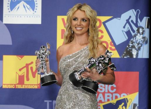 La cantante Britney Spears triunfó en los premios MTV Video Music Awards de 2008.