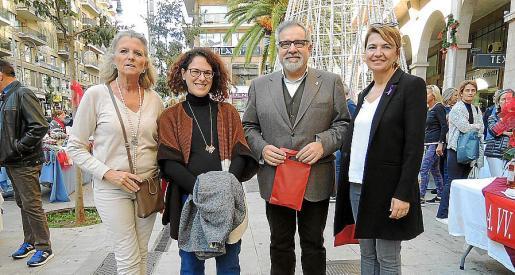 Toya de la Vega, Eva Frade, Josep Lluís Bauzá y Marga Duran.