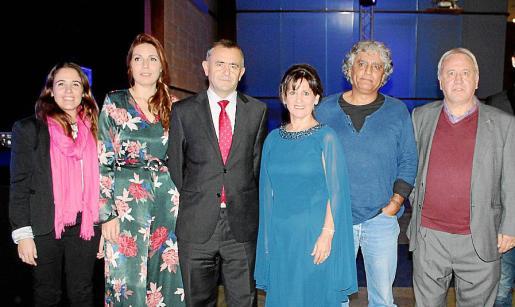 María Forteza-Rey, Susana Jordà, Fernando Giménez Barriocanal, Aurora García, Juan Montes de Oca y Jaume Alemany.