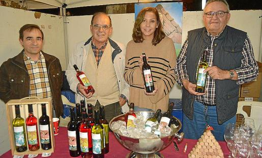 Robert Llopis, Eusebio Pérez, Carolina Ferragut y Toni Ramis.