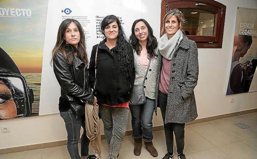 Blanca Cordobilla, Lucía Latorre, Amalia Riera y María Sánchez.
