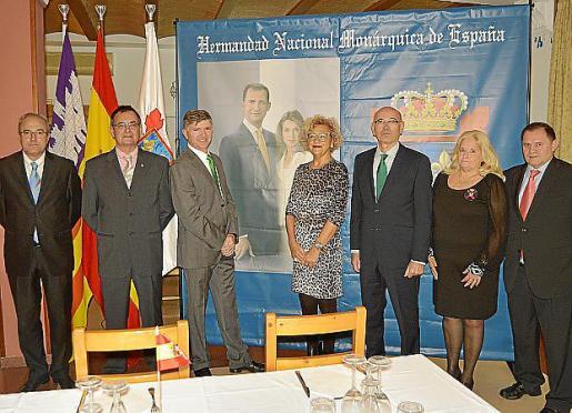 José Codony, Francisco Mata, José Fernández, Margalida Beltran, Rafel Xamena, Maryke Nagel y Antonio Pujadas.