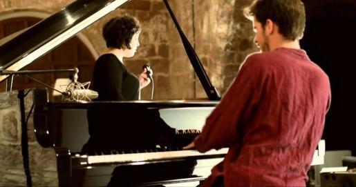 Celeste Alías y Marco Mezquida presentan su nuevo trabajo en el Teatre Principal de Palma.