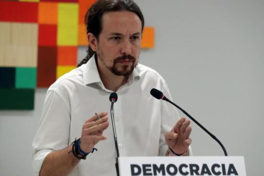 El secretario general de Podemos, Pablo Iglesias, en una imagen de archivo.