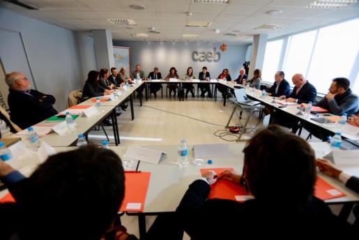 Reunión del Patronato de la Fundació Impulsa Balears.